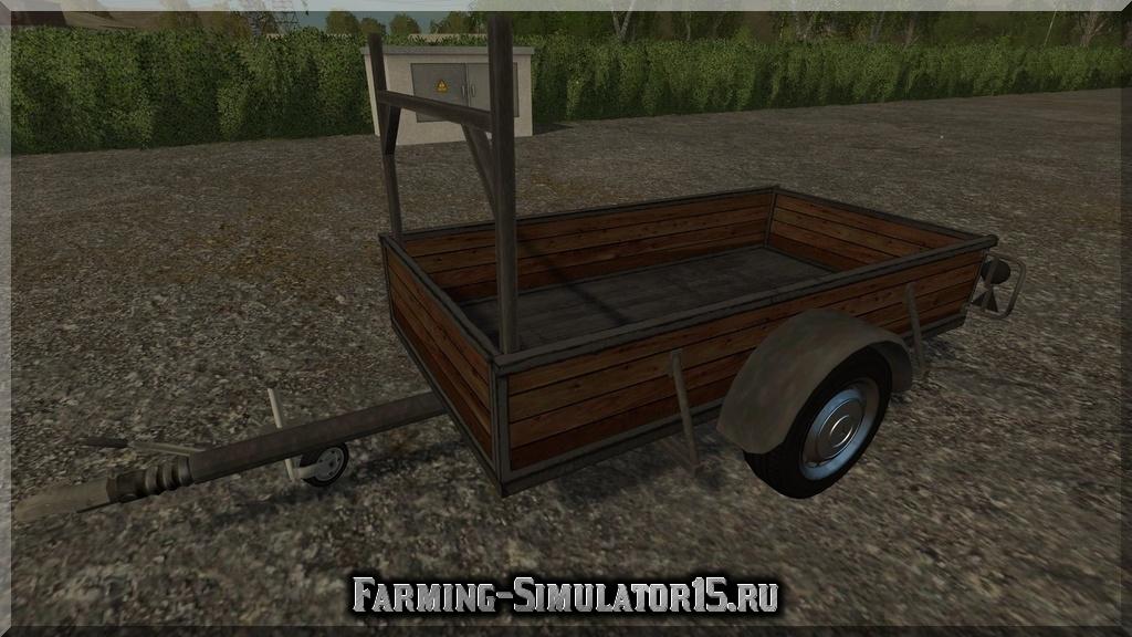 Мод прицепа Single Axle Trailer v1.0 Farming Simulator 2015, 15