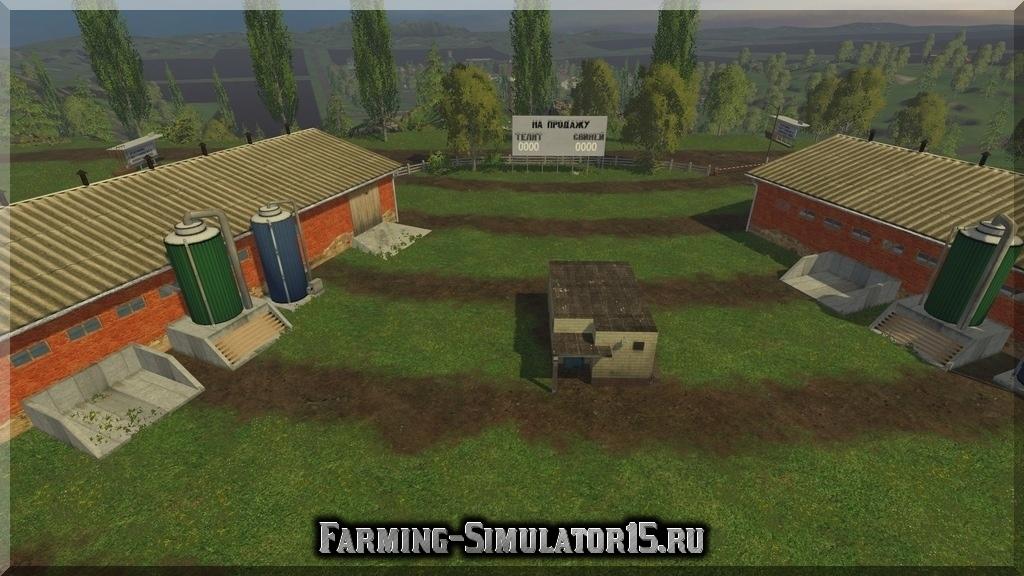 Мод карты WESTBRIDGE HILLS V 3.4 FINAL FIX Farming Simulator 15