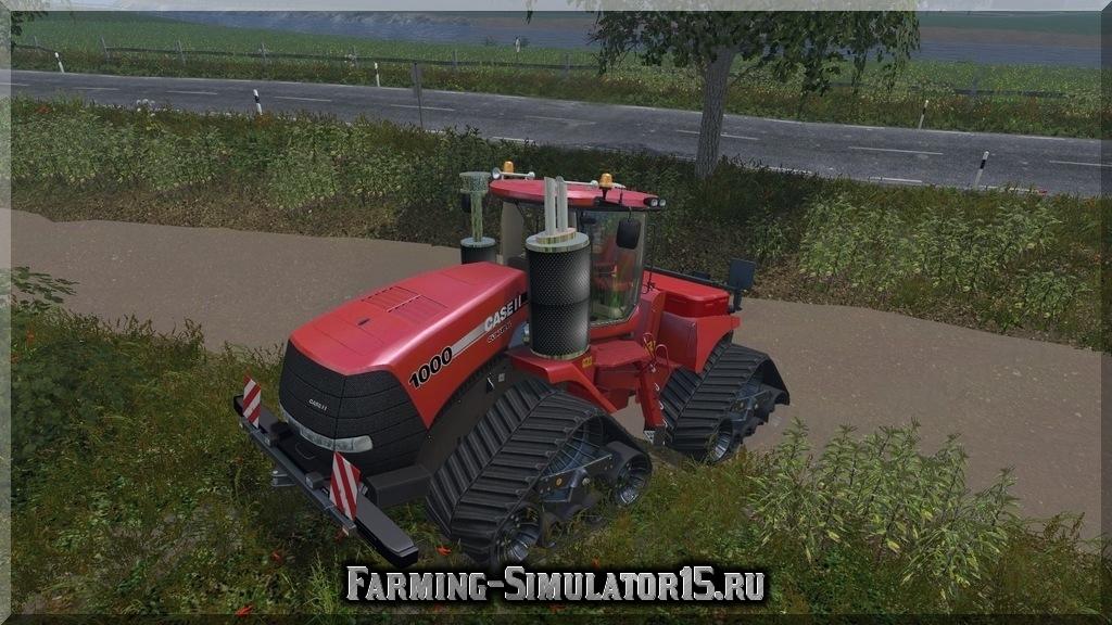 Мод трактора Case IH QuadTrac 1000 v 1.0 Farming Simulator 15