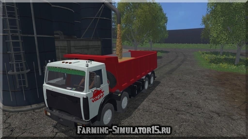 Мод грузовика MZKT-65152 v1.0 Farming Simulator 2015