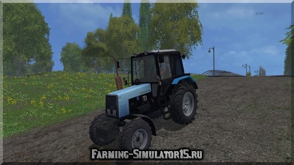 Мод трактора Беларус МТЗ MTZ 89.2 v 1.0 Farming Simulator 15