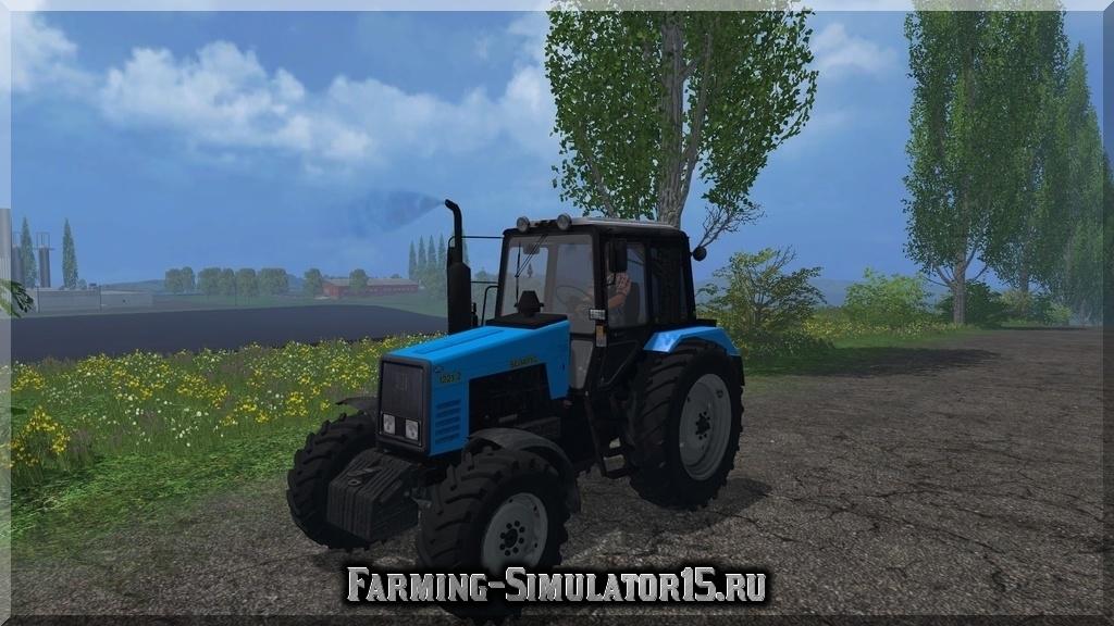 Мод MTZ-1221 v2.0 Farming Simulator 15