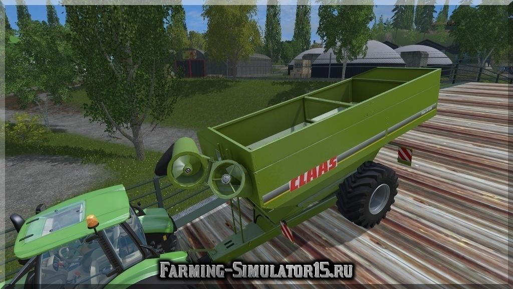 Мод прицепа Claas Überladewagen Titan v 1.0 Farming Simulator 2015