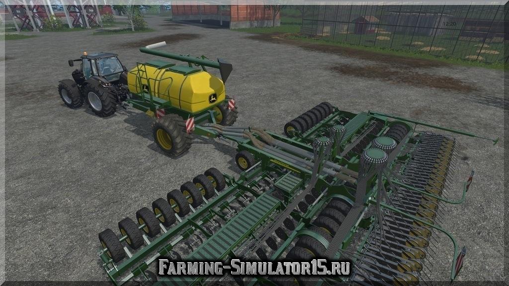 Мод сеялки John Deere AIR Seeder 12M v 1.0 Farming Simulator 2015