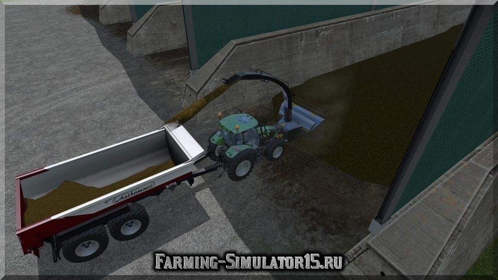 Мод погрузчик Fraese v 3.0 Farming Simulator 15