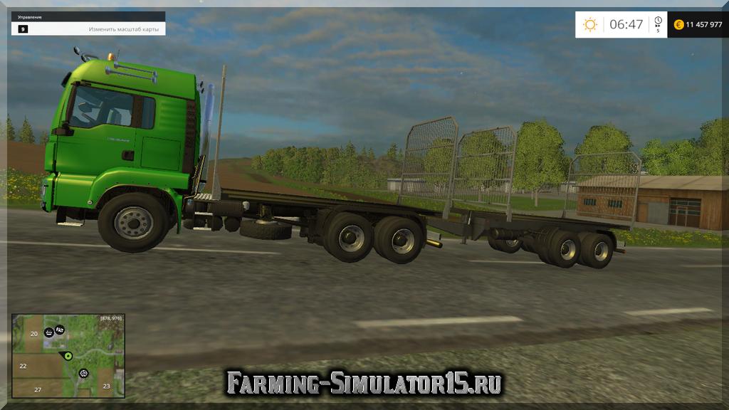 Мод грузовика MAN Balles Transport Pack v1.0 Farming Simulator 2015, 15
