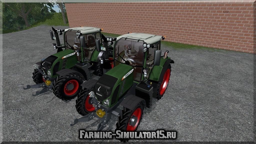 Мод трактора Fendt 512 Vario v 2.0 Farming Simulator 2015