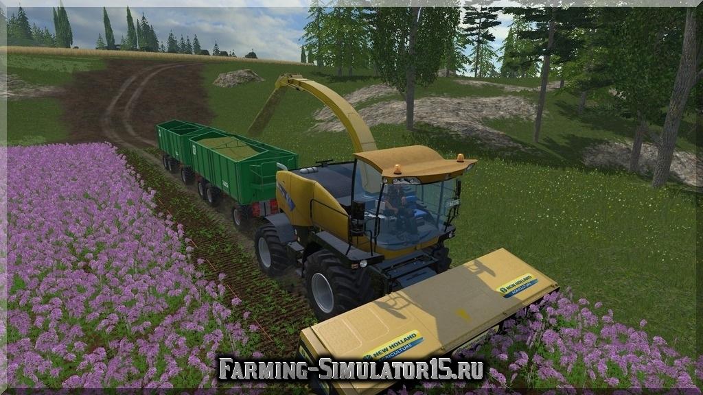 Мод комбайна NEW HOLLAND FR9090 Combine PACK Farming Simulator 2015