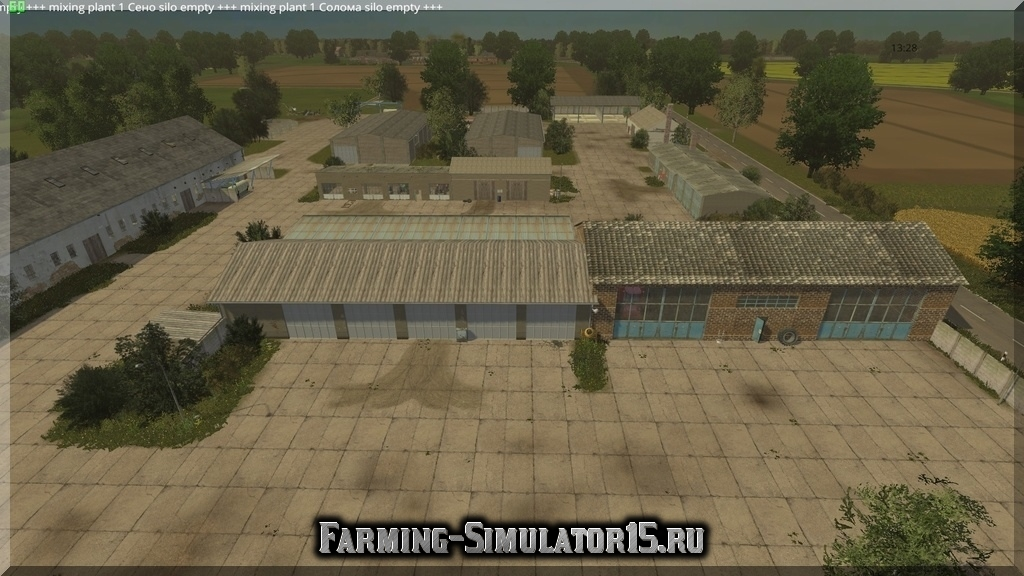 Мод карты Bantikow Final v.2.0 Farming Simulator 2015