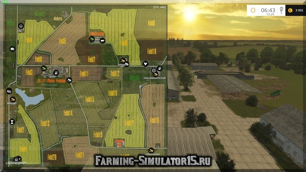 Карты для Farming Simulator 2015