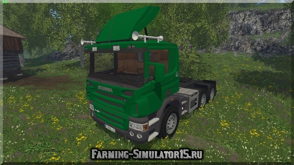 Мод грузовика Scania ZM3A Billinger v 2.3 Farming Simulator 15
