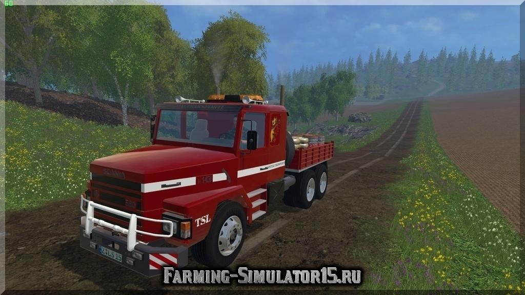 Мод грузовика Scania 143H Variable Body v 2.0 Farming Simulator 2015