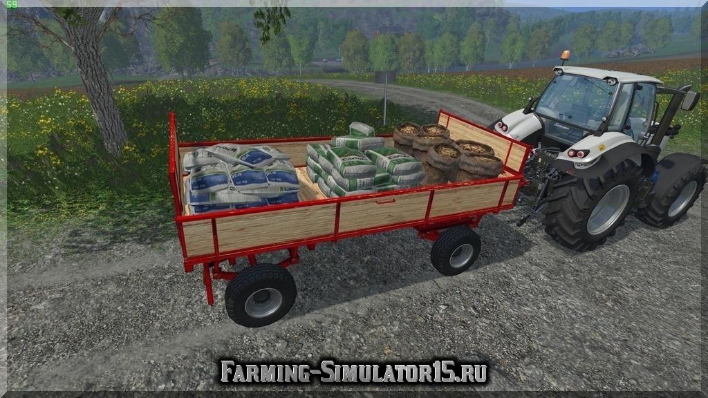 Мод прицепа Mobile Saatgut Station v 1.0 Farming Simulator 2015