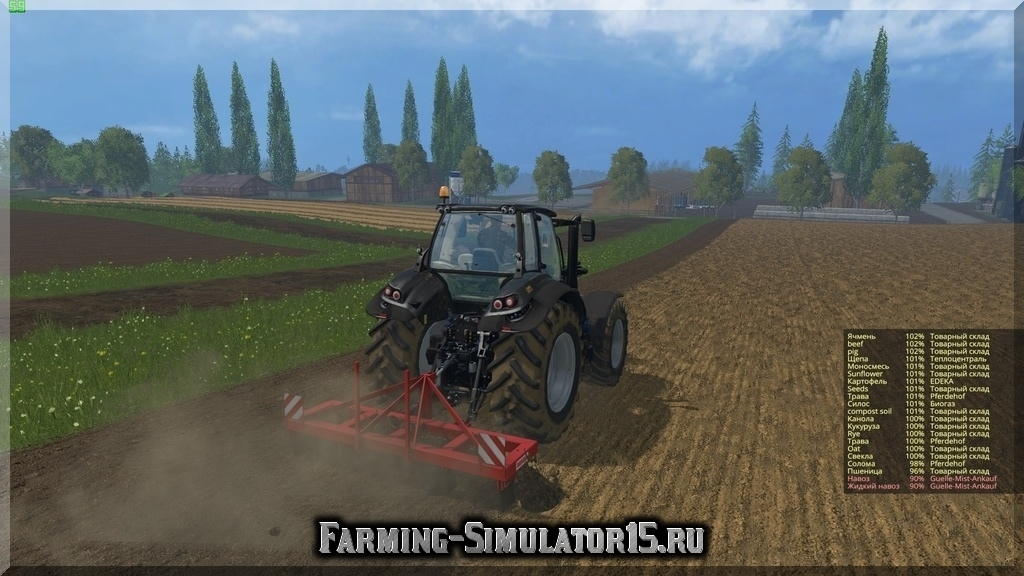 Мод культиватора Euro Jabelmann Youth Day 5 3000 v 1.0 Farming Simulator 15