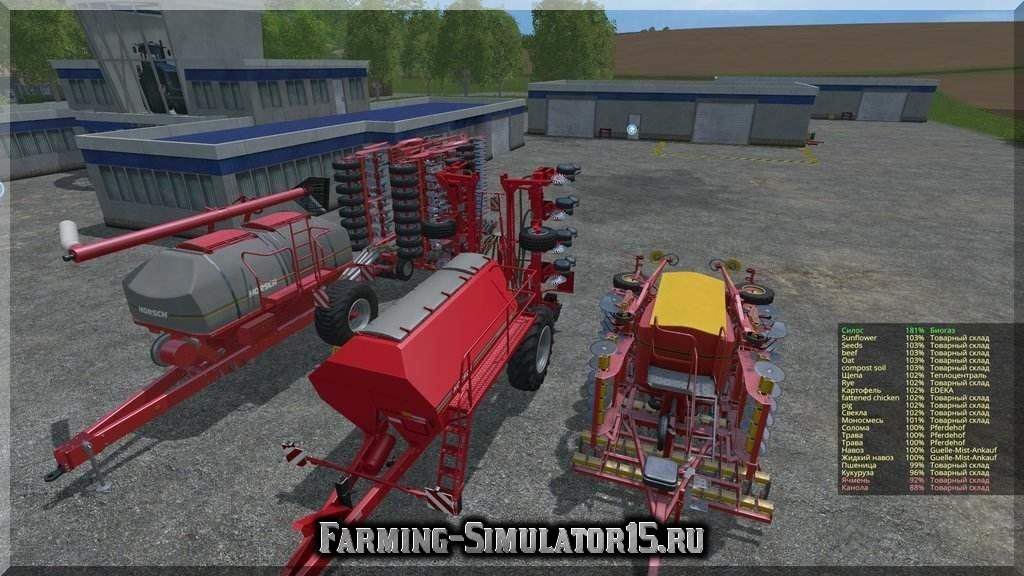 Мод пак сеялок для семян (seeds) Sowing Machines Pack v2 Farming Simulator 2015