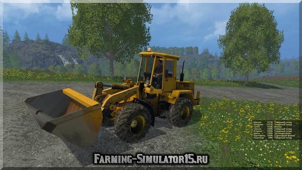 скачать бесплатно игру Farming Simulator 2015 мод погрузчик - фото 9