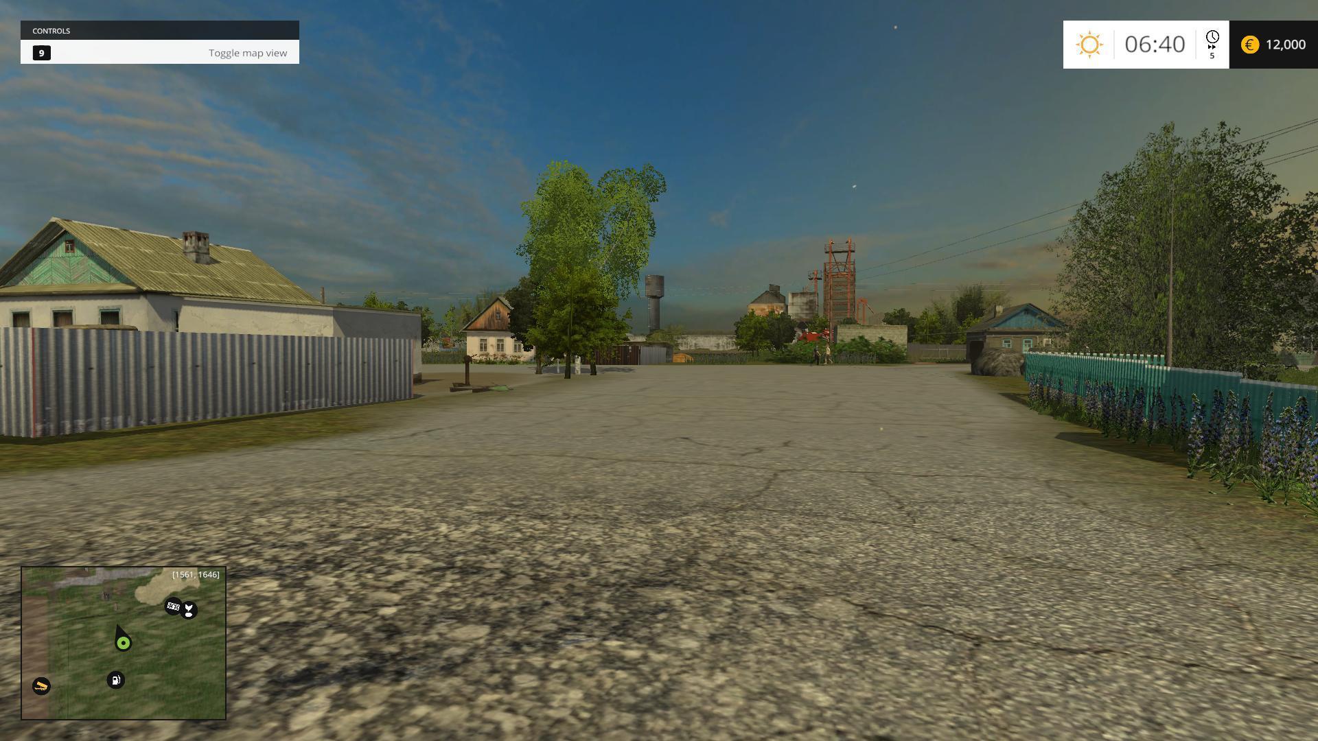 Мод русская карта Деревушка DEREVUSHKA 2 V2 Farming Simulator 2015