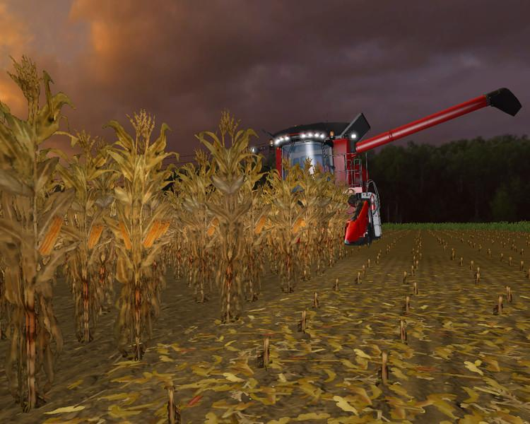 Текстуры Gold Maize Texture v1.0 Farming Simulator 2015