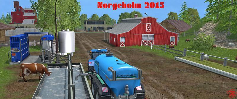 Мод карты NorgeHolm v1.2 Farming Simulator 2015