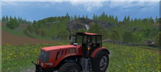 Мод трактора Беларус МТЗ MTZ 3022 DC1 v 2.0 Farming Simulator 2015