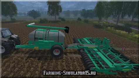 "Мод сеялки Посевной комплекс ""Кузбасс-Т"" ПК-8,6 v.1.1 Farming Simulator 2015"