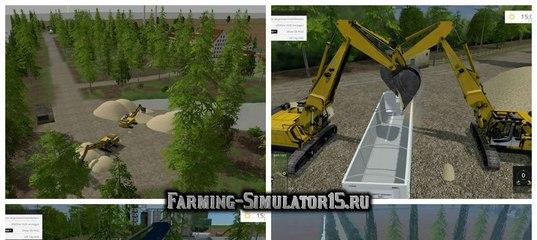 Мод карты FRISIAN MARCH V2.3 Farming Simulator 15