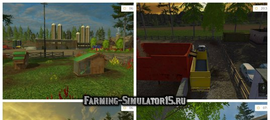 Мод карта RINGWOODS FINAL MAP UPDATE FIXES V1.81 Farming Simulator 15