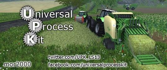 UniversalProcessKit V 0.9.8 Farming Simulator 2015