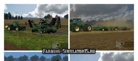 Мод плуг John Deere 2720 v 3.0 Scaled Farming Simulator 15
