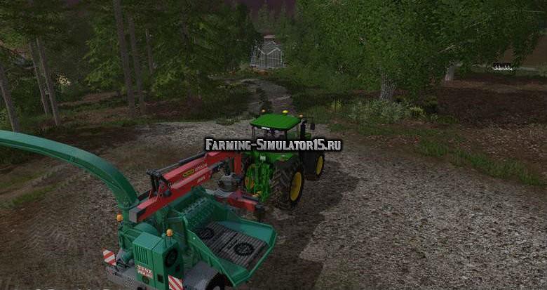 Мод щеподробилка Jenz HEM 583z v 3.0 Farming Simulator 15
