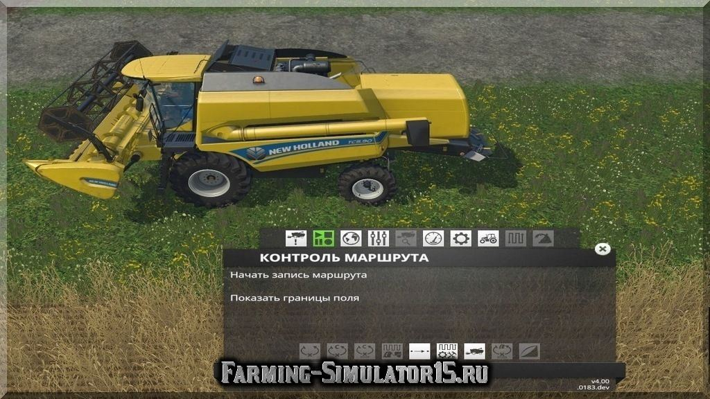 Мод скрипта Курсплей Courseplay v.4.01.0107 dev Farming Simulator 15