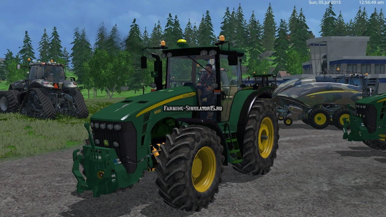Скачать мод трактора для фермер симулятор 2017