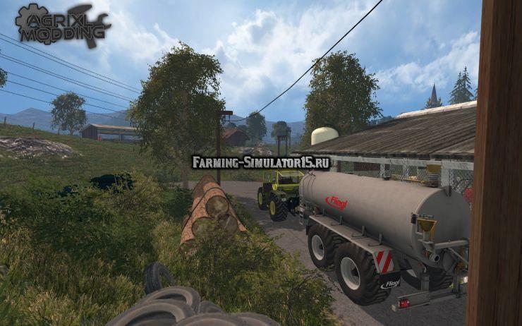 Мод прицеп FLIEGL VFW 18000 V1.0 Farming Simulator 2015