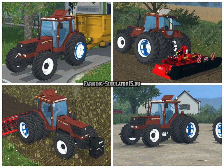 Мод трактор Fiatagri F130 v 1.0 Farming Simulator 2015
