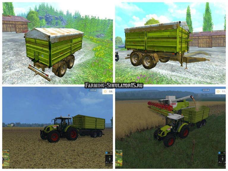 Мод прицеп Fliegl TDK 200 v 1.1 Farming Simulator 15