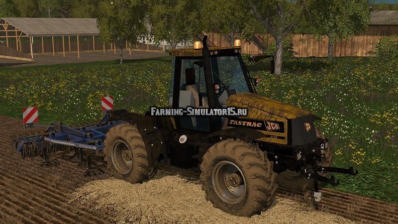 Мод трактор JCB FASTRAC 2140 WASCHBAR V 1.0 Farming Simulator 15