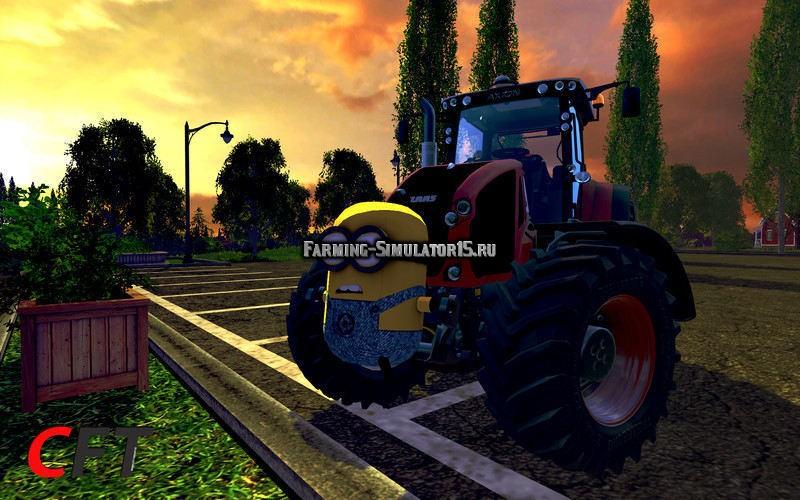 Мод противовес Миньон Minion Gewicht 1200kg v 1.2a Farming Simulator 2015