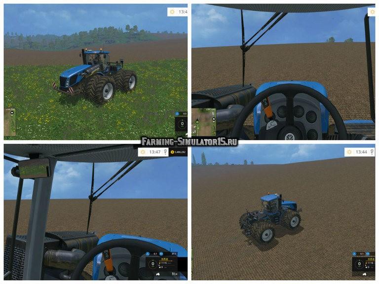 Мод трактор New Holland T9.560 Duel Wheel v 2.0 Farming Simulator 15