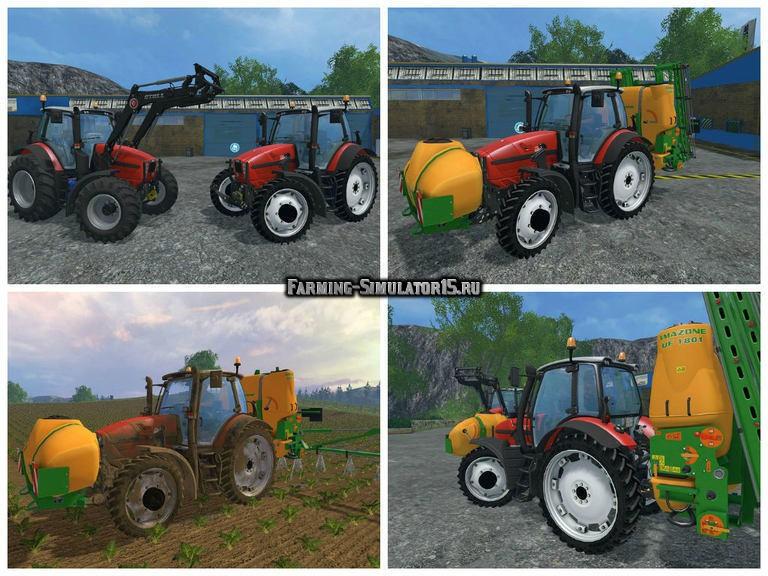 Мод трактор Same Fortis 190 v 1.05 Wechselbare Bereifung Farming Simulator 15