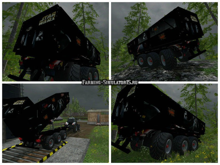 Мод прицеп Star Wars V1.0 Farming Simulator 2015