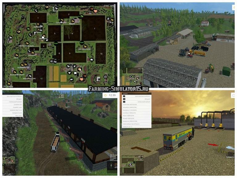 Мод карта SteffensLand 2015 v1.0 Farming Simulator 2015