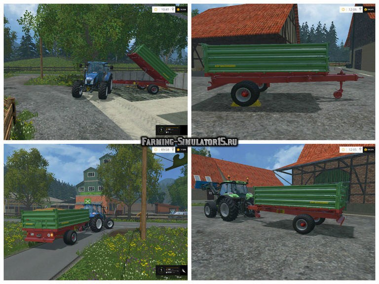 Мод прицеп Strautmann SEK 802 v 1.0 Farming Simulator 2015