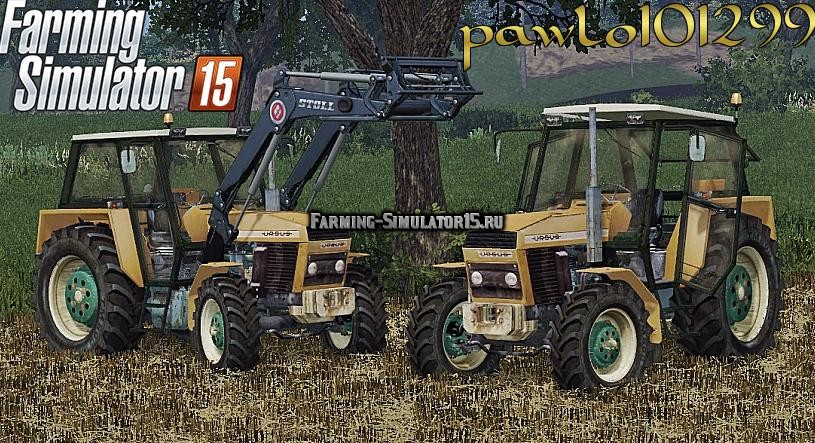 Мод трактор URSUS 914 Farming Simulator 15