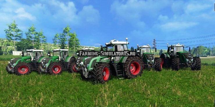Мод ПАК тракторов Fendt 900er Serie v3.0 Farming Simulator 2015