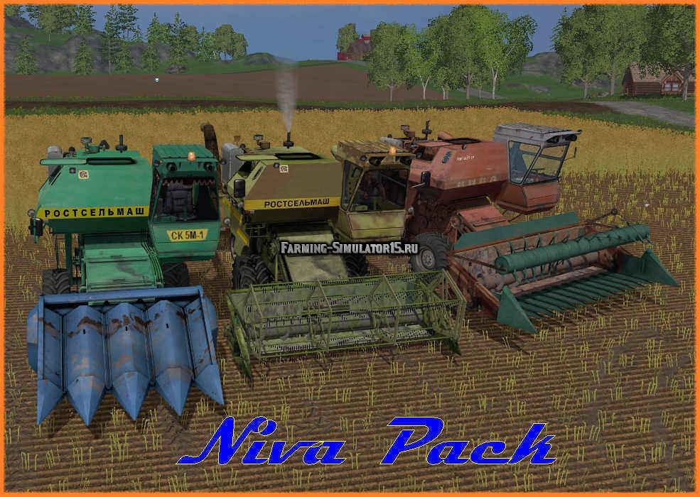 скачать мод на комбайн нива на Farming Simulator 2013 - фото 7