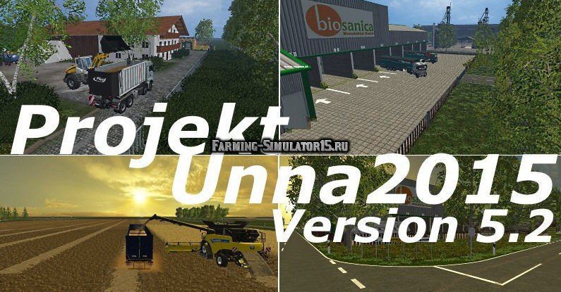 ПАК модов к Карте Projekt Unna2015 v 5.2.2 Farming Simulator 2015