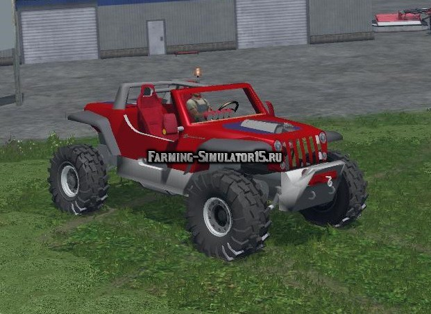 Мод автомобиль HEMI HURRICANE V1 Farming Simulator 15