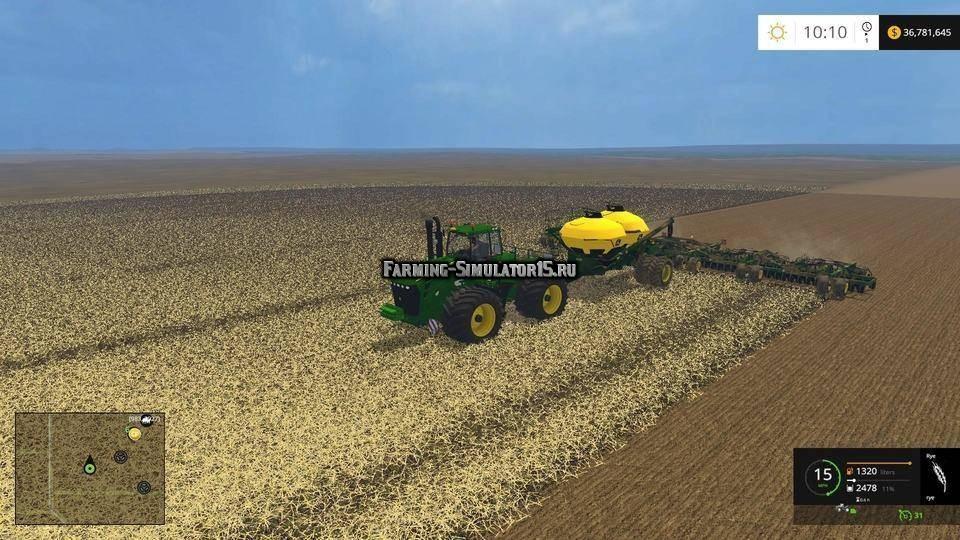 скачать моды для Farming Simulator 2015 сеялки кукурузы - фото 5