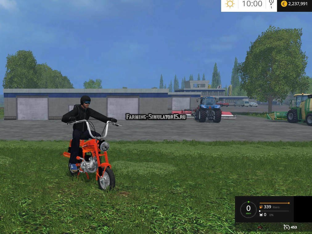 Мод мопед ROMET PONY V1 Farming Simulator 15