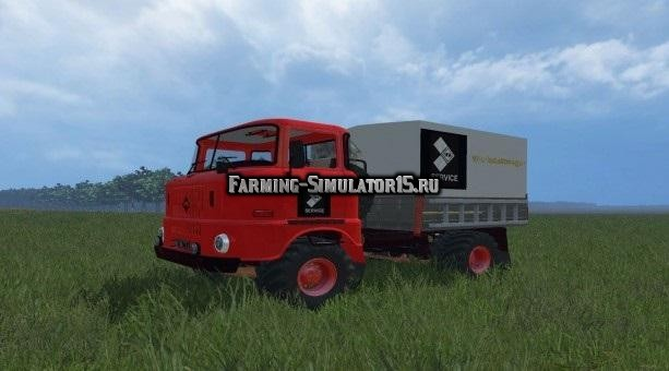 Мод грузовик IFA W50 Service v 1.0 Farming Simualtor 2015